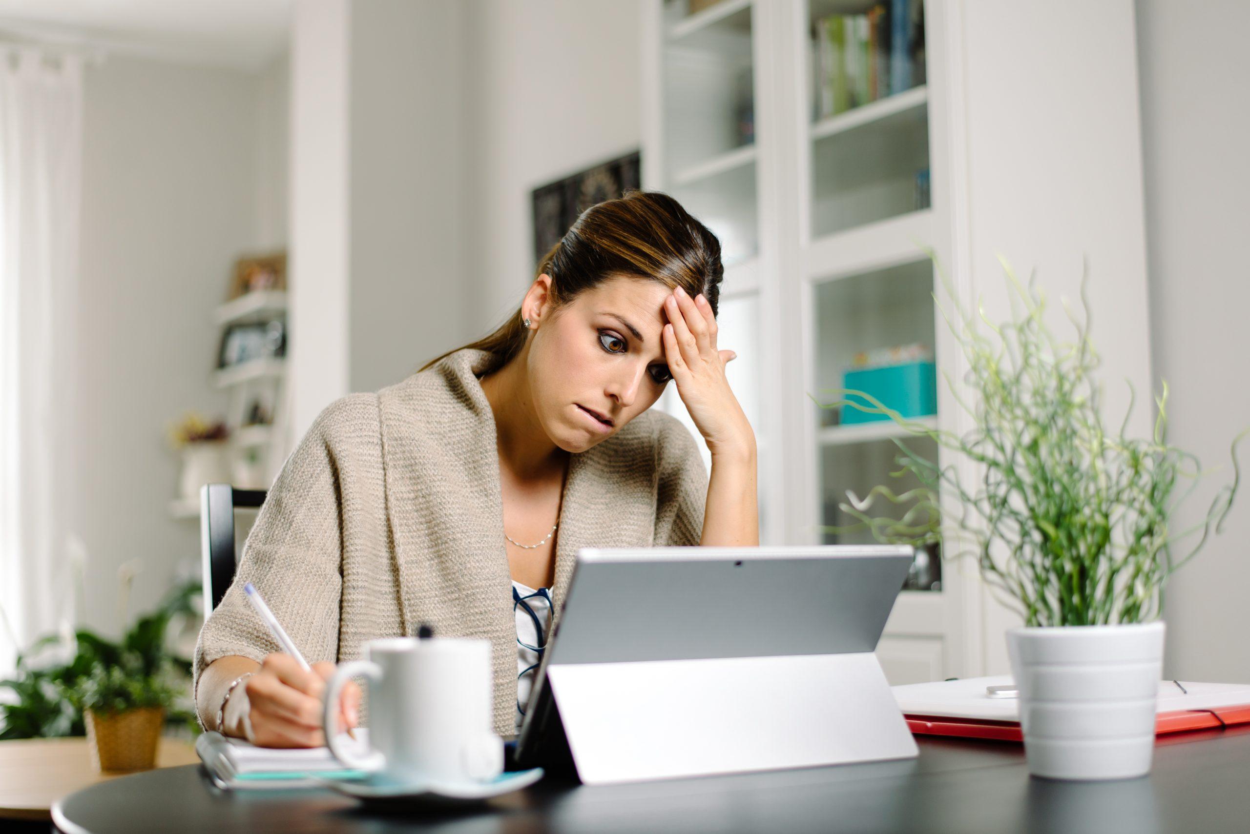 Book marketing stress